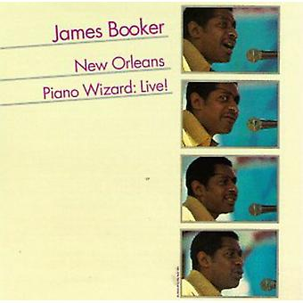 James Booker - New Orleans Piano Wizard Live [CD] USA import