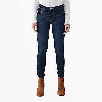 DL1961  - Florence Mid-Rise Skinny Jeans - Indigo