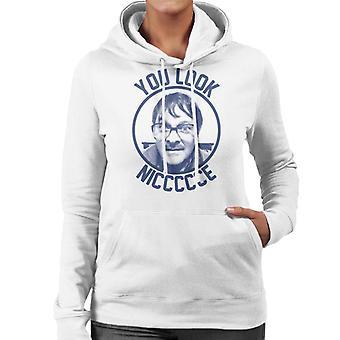 Friday Night Dinner Jim You Look Niccccce Women's Hooded Sweatshirt