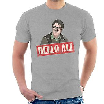 Friday Night Dinner Jim Hello All Men's T-Shirt