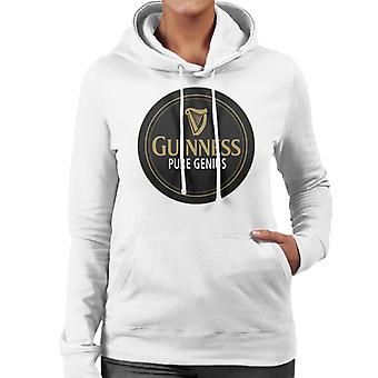 Guinness Pure Genius Women's Hooded Sweatshirt