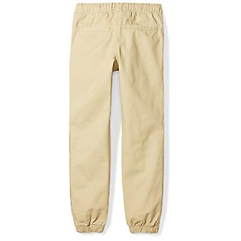Brand - Spotted Zebra Big Boys' Geweven Jogger Pants, Light Khaki, X-Lar...