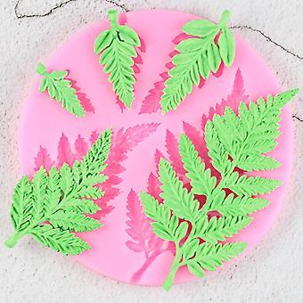 Sugarcraft Leaf silikónová forma - Mimosa Fondant formy, Diy Cake zdobenie nástroj