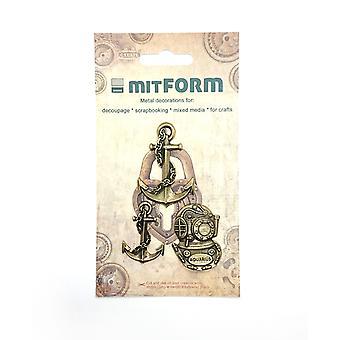 Mitform Marine 3 Metal Embellishments
