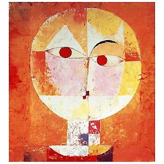 Print on canvas - Senecio - Paul Klee - Painting on Canvas, Wall Decoration