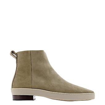 Fear Of God 6p207007251 Men's White Leather Ankle Boots