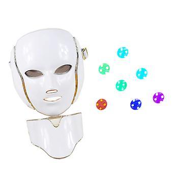 7 barev obličejová maska, Anti-aging Pdt kůže Omlazení krása stroj pro led