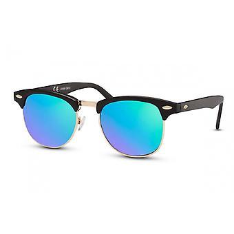 Okulary przeciwsłoneczne Unisex Wanderer Cat.3 Czarny/Niebieski (CWI771)