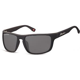 النظارات الشمسية Unisex Cat.3 مات الأسود / الأسود (SP314)
