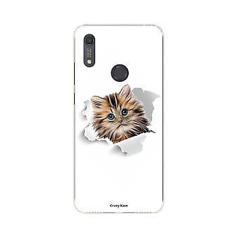Hull For Huawei Y6s Soft Cute Cat