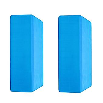 Ganvol 2 Portable Footrest Blocks 22x14x7.5cm, Lightweight 180g,Blue