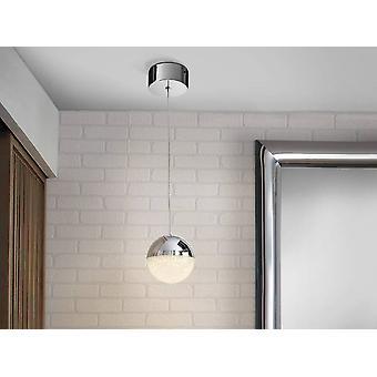 Schuller Kugel - integrierte LED Globe Deckenanhänger Chrom