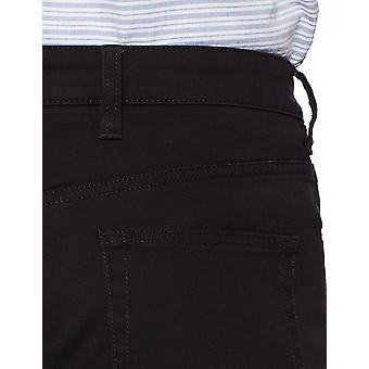 Goodthreads Miehet's Slim-Fit 5-Pocket Chino Pant, Musta, 30W x 28L