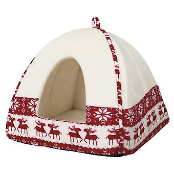 Trixie Soft Cave Santa (Cats , Bedding , Igloos)