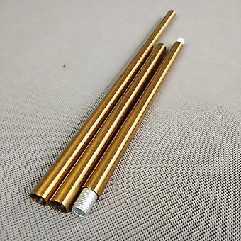 Thread  Antique Gold Metal Hollow Tube