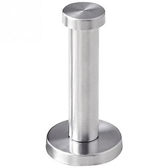 Coat Silver Hook Bathroom Wall-mount Stainless Steel Cylinder Towel Utility Strong Robe