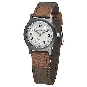 JACQUES FAREL Eco Kids Polshorloge Analog Quartz Boys ORG 0988 Brown