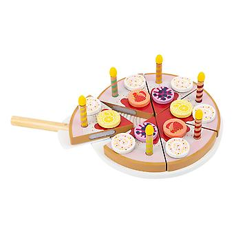 Legler Children's Cuttable Birthday Cake with Candles Play Set (11509)