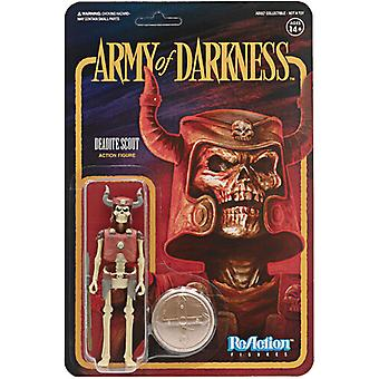 Army Of Darkness Reaction Wave 1 - Deadite Scout USA import