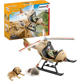 Schleich Animal Rescue Helicopter USA import