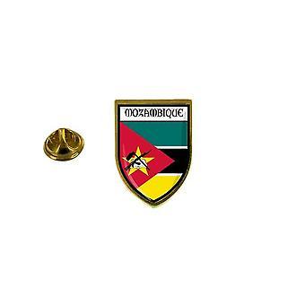 pine pine pine badge pine pin-apos;s souvenir city flag country mozambique coat of arms