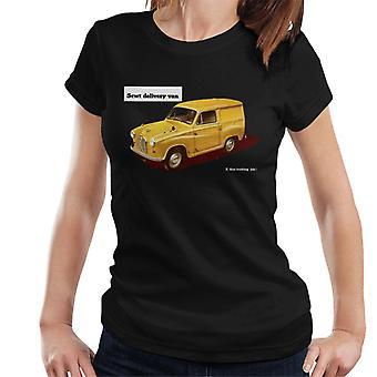 Austin 5cwt Delivery Van British Motor Heritage Women's Camiseta