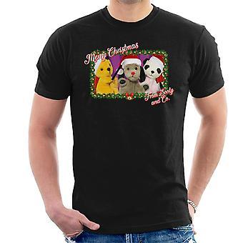 Noke joulu hyvää joulua noke ja co men's t-paita