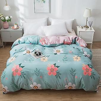 dual-sided Duvet Cover  soft Comfortable Cotton Printing Comforter -textiles Quilt Cover  Set 7