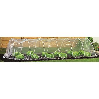 Clear Vegetable / Fruit Polytunnel / Grow Tunnel. 5 Metres.