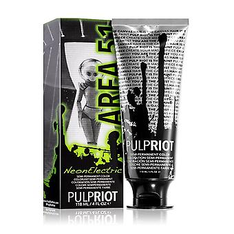 Pulp Riot Semi-permanent Cruelty-free & Vegan Neon Electric Hair Dye - Area 51 118ml