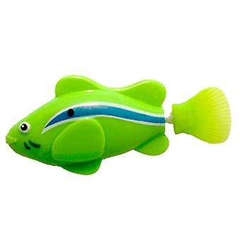 Electronic, Battery Powered, Swimming Fish Toy For Kid's Bathing