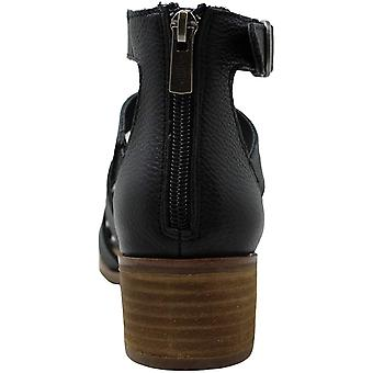 American Rag Femmes Sonia Leather Peep Toe Sandales à bretelles de cheville occasionnels