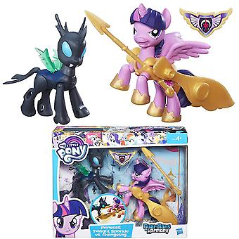 2-Pack My Little Pony Princess Twilight Sparkle vs Changeling Figure Doll Doll