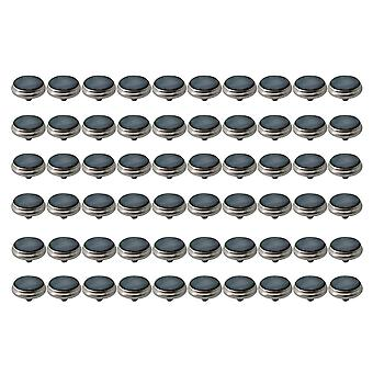 60 PCS Przyciski palców zaworu trąbkowym Czarna średnica powłoki 16,5 mm