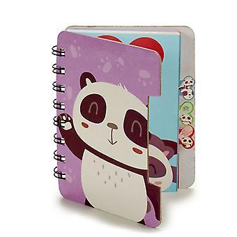 Ordinateur portable (12 x 1 x 9,2 cm) Ours panda