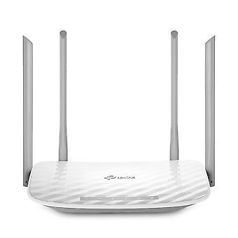 Tp-link archer c50 ac1200 langaton kaksikaistainen kaapelireititin, wi-fi nopeus jopa 867 mbps / 5 ghz + 300 mb