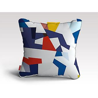 Värikäs kuviotyyny /tyyny