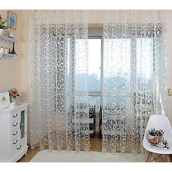 Modern Ready Made, Sheer Window Curtain For Bedroom, Living Room