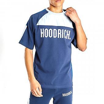 Hoodrich OG Roadz Crew Neck T-Shirt Navy/Blue/White