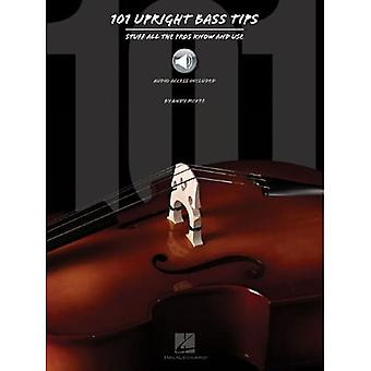 Andy Mckee: 101 Upright Bass Tips (Book/Online Audio)