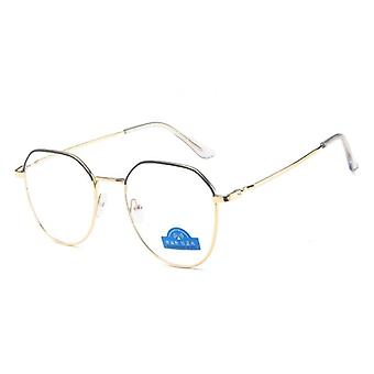 Anti Blue Ljus Blockering Glasögon Ram Datorspel Goggles & Kvinnor