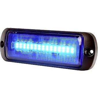 WAS Strobe light W218 1471 12 V DC, 24 V DC via in-car outlet Assembly, Screw mount Blue