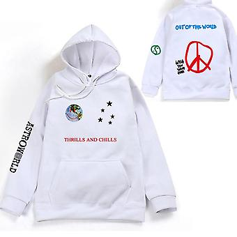 Hoodies Plus Pants, Autumn Streetwear, Pullover Travis Scotts Young Men