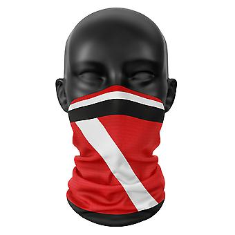 Southampton Football Colours Snood Face Mask Head Scarf Neckerchief BuffHeadwear Tube
