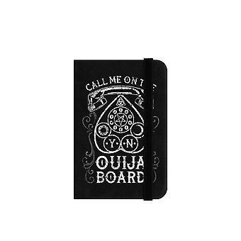 Grindstore Call Me On The Ouija Board Mini Notebook
