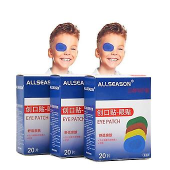 Colorful Breathable Eye Patch Band Aid Medical Sterile Eye Pad