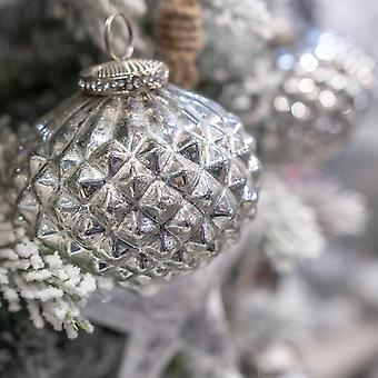 The Noel Collection Textured Christmas Bauble