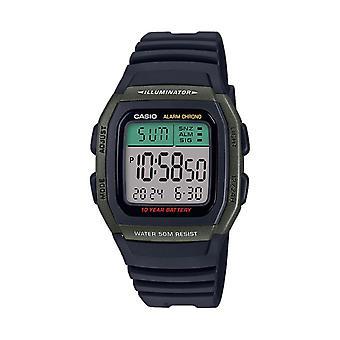 Casio Watch W-96h-3avef - Vintage Black Box Display Digital Male/Female