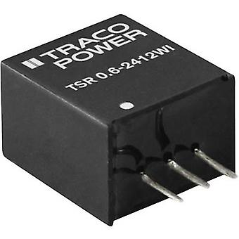 TracoPower TSR 0.6-4833WI DC/DC converter (print) 600 mA 5 W No. of outputs: 1 x