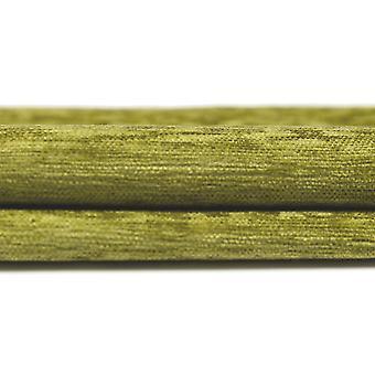 McAlister tekstiilit Plain Chenille Lime vihreä Kangas näyte